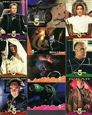 BABYLON 5 SER 2 SKYBOX 1996 COMPLETE 60 TRADING CARD BASE SET CLAUDIA CHRISTIAN+