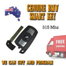 Genuine BMW Smart Key - 315Mhz - 3 5 6 X Series - WE CAN CUT & PROGRAM Free Post