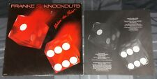 FRANKE & THE KNOCKOUTS / BON JOVI'S TICO 1984 MAKIN' THE POINT VINYL LP / RECORD