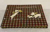 Vintage Scottie Dog Photo Album Unused