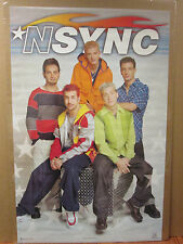 Nsync 1999 original boy band poster music artist 7329