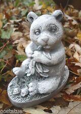 Latex panda bear mold plaster concrete casting mould