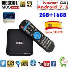 MECOOL M8SPRO+ Smart TV Box 2GB DDR3 16GB Android 7.1 Amlogic S912 Quad Core UHD