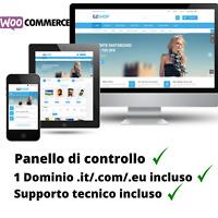 Dominio INTERNET con NEGOZIO ONLINE STORE SHOP WEB WOOCOMMERCE versione 4.1 new