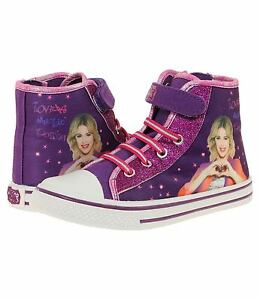 Neu Sneaker Sportschuh Mädchen Schuhe Disney Violetta lila Klettverschluß 29-34