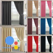 Blackout Thermal Curtains 46x5 46x72 66x54 66x72 66x90 90x90 Eyelet Ring Curtain