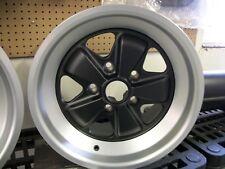 Porsche Fuchs Wheel 16 x 8 - NEW  ET 10.6  Matte Black Finish