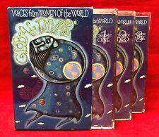 Global Divas Voices From Women Of The World 3 Cassette Tape Boxed Set Slipcase