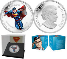 "2013 RCM ""MODERN DAY"" SUPERMAN $15 FINE SILVER COIN"