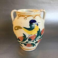 Mid Century Shabby Chic Italy Art Pottery Vase Raymor Signed Vintage Italian