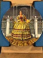 """Gone With The Wind """"Melanie"""" Knowles Collector Plate """""""
