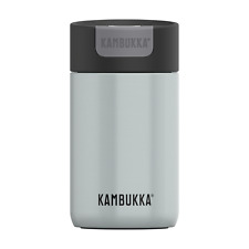 Kambukka Olympus Coffee & Tea Travel Mug 300ml Insulated Switch Lid, Polar White