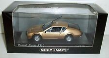 MINICHAMPS 1/43 - 400 113500 RENAULT ALPINE A310 1976 - COPPER