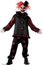 Morris Costumes Men's Carver The Killer Mask Horror Clown Costume L. MR148043
