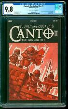 Canto II The Hollow Men 1 CGC 9.8 NM/M TMNT 1 Homage 1:10 Retailer Incentive IDW