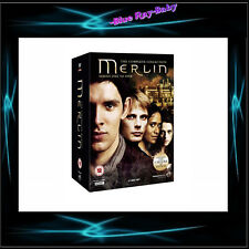 MERLIN - COMPLETE SERIES SEASONS 1 2 3 4 & 5 *** BRAND NEW DVD BOXSET***