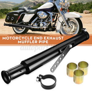 Motorcycle Exhaust Pipe Muffler Reducer Cocktail Shaker Tulip Bell End Chopper