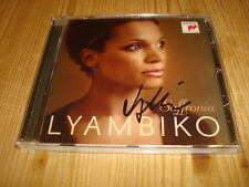 LYAMBIKO Saffronia SONY CLASSICAL CD NEW Signed NEU Signiert