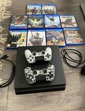 Slim Sony PlayStation 4  Big Bundle 2 Controller And 10 Top Games