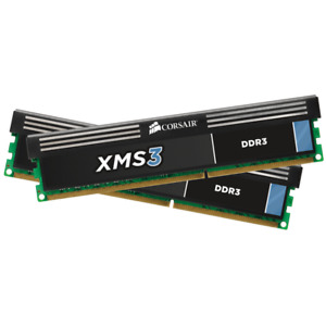 XMS3 Corsair 16gb ram (2x8gb sticks) 2000Mhz (rare) DDR3
