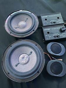 Alpine 6562 Old School Component Speakers