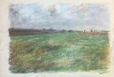 Franz Ehmke 1928-2018 GDR Painter° Field Meadows Landscapes Botany Nature°