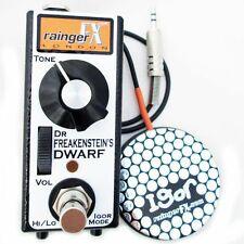 Rainger FX Dr Freakenstein's Dwarf Distortion Pedal With Igor
