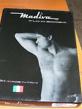 2 MAGLIE T-SHIRT MADIVA taglia 6/XL art.GABRIELE m/m girocollo FILO DI SCOZIA