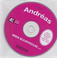 Andreas-Mien Buurvrouw Promo cd single