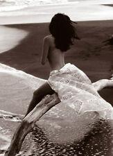 "Kim Taylor Reece ""Ele'ele"" 11 X 14 Double Matted Hawaiian Hula Print - New"