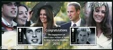William & Kate Royal Engagement Isle of Man souvenir sheet of two stamps mnh