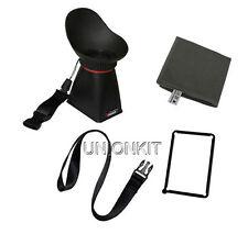 new 3inch LCD Viewfinder Extender camera hood eye finder For G12 G11 d7200 high
