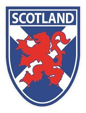 Scottish parachoques la ventana de Sticker De Vinilo De Escocia Saltire Lion Shield