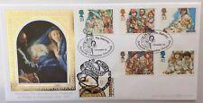 Benham 1.11.1994 CHRISTMAS FDC Doubled with Israel, Nazareth stamp Ltd 1/250 COA