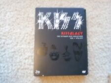 "KISS ""KISSOLOGY ULTIMATE KISS COLLECTION VOLUME # 1"" BOX SET 2 DVD'S 1974-1977"