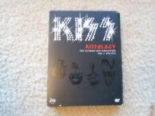 "KISS ""KISSOLOGY ULTIMATE KISS COLLECTION VOLUME # 1"" BOX SET 2 DVD'S 1974-1977"