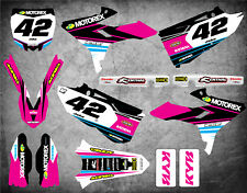 STRIKE F sticker kit fits Yamaha YZ 250 / 2015 - 2018 R TECH REVOLUTION plastic