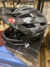 Bell Super Air R Matte Black Gloss Camo Large Bicycle Helmet
