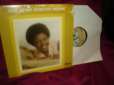 Dorothy Moore Talk To Me w/ Lonely / Crazy In Love (Shrink On) Vinyl LP