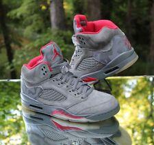 meet 9cb60 10d8e Air Jordan 5 Retro Camo Men s Size 8.5 Dark Stucco Red 136027-051