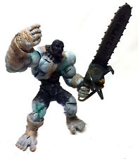 "Vintage SEGA Video Games Strength & Tronçonneuse Evil Zombie 7"" Figure Toy RARE"