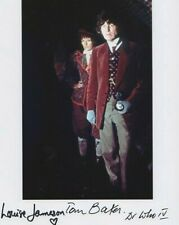 More details for doctor who autograph: tom baker & louise jameson signed photo