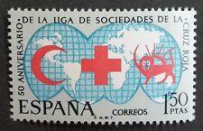 Spain (1969) Red Cross / Medicine / Maps / Globes - Mint (MNH)