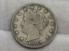 1883 w/ Cents LIBERTY V Nickel. #33