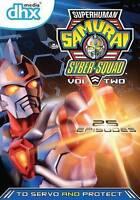 Superhuman Samurai Syber-Squad, Vol. 2 (DVD, 2013, 3-Disc Set)