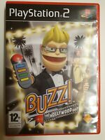 Buzz The Hollywood Quiz (Sony PlayStation 2, 2007) - UK Version