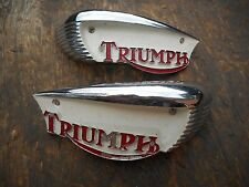 TRIUMPH DAYTONA TIGER TROPHY T100 500 BONNEVILLE T120 650 GAS TANK EMBLEM BADGE
