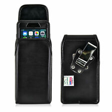 iPhone 8 Plus 7 Plus Holster Clip Metal Otterbox Leather Vertical Turtleback