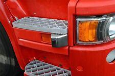Para adaptarse a Scania Serie P, G, R pre 2009 Cromo Envolvente De Luz Indicadora Recortar 2pc
