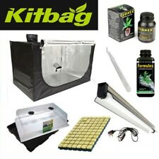 PROPAGATION cuttings mother plant Grow Light hydroponics grow tent kit small 60